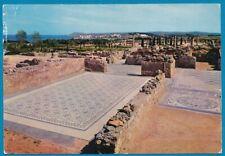 vintage ansichtkaart Spanje: Costa Brava no 1421: Ampurias Mosaicos Romanos