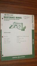 Vintage Ge Mastr Pe Test Supply Regulator 4Ex19A10 Manual