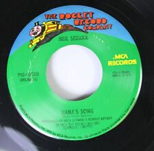 Rock 45 Neil Sedaka - Hana'S Song / Breaking Up Is Hard To Do On The Rocket Reco