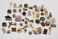 Lot of 50 Vintage & Modern Pins Pinback