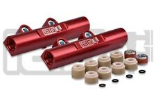 IAG Performance Red V3 Top Feed Fuel Rails For Subaru 02-14 WRX / 07+ STI