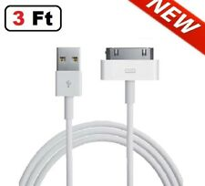 3 FT USB Data Sync Cable Cord Charger for iPhone 4 4G 4S 3GS iPod Nano Touch 4G