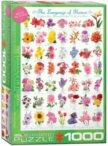 The Language of Flowers 1000 piece jigsaw puzzle 680mm x 490mm (pz)