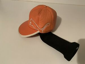 Rare Puma Orange Rickie Fowler Hat Cobra Driver Headcover Good 4-A
