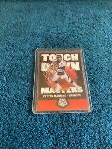 Peyton Manning Autographed Denver Broncos Football Card