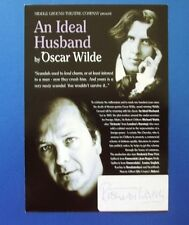 THEATRE FLYER AN IDEAL HUSBAND SIGNED BY RICHARD WALSH [ LONDONS BURNING ]