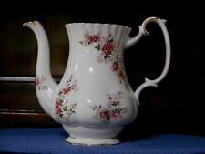 Royal Albert Coffee Pot Lavender Rose Bone China England Replacement