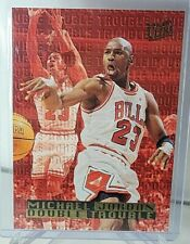 1995-96 Fleer Ultra Michael Jordan Double Trouble Insert Card 3 of 10