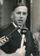 """PARIS 1957 - Raymond Triboulet Président des """"Républicains sociaux"""" - PR 709"""