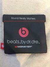 Genuine Beats By Dr. Dre Monster Wireless Earphones Plastic Multi-Purpose Bag