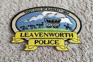 Leavenworth Kansas Police Shoulder Patch