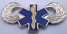 U.S. ARMY AIR MEDICAL WINGS Military Veteran Hat Pin P12495 EE