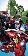 Official Avengers Cotton Beach Towel Thor Ironman Captain America Hulk New Gift