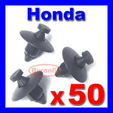 Honda Plástico Remache Sujetador Clips parachoques Rueda Arch Trim y enajenación forzosa Forro
