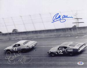 Richard Petty & Bobby Allison DUAL SIGNED 11x14 Photo NASCAR PSA/DNA AUTOGRAPHED