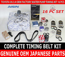 OEM WATER PUMP TIMING BELT KIT for SUPERCHARGED ENGINE PTR30-35040 BELT 3.4 V6