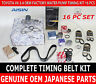 NEW TOYOTA 3.4 V6 5VZFE AISIN TKT-005 COMPLETE 16pcs TIMING BELT WATER PUMP KIT