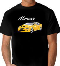 HOLDEN  VZ   CV8    MONARO   BLACK TSHIRT   MEN'S LADIES  KID'S  SIZES