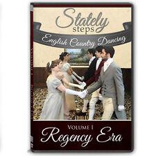 """Regency Era"" English Country Dancing Instructional DVD - Volume I"