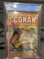 Conan the Barbarian #11 CGC 9.0 White Pages! Look!
