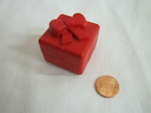 LEGO DUPLO Birthday Party Present Play Toy RED BOX GIFT with Bow Opens Up Block