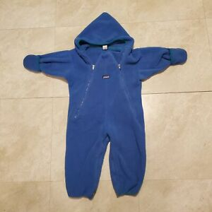 Patagonia 24 Mos Months Baby Fleece Winter Bunting Snow Suit