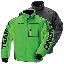 Arctic Cat Men's Team Arctic Racing Pro Flex Snowmobile Jacket Green, Black