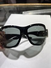 Vintage Christian Dior Airspeed 2 Oversized Black Sunglasses As Is