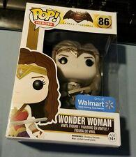POP HEROES WONDER WOMAN SEPIA TONE WALMART EXCLUSIVE FUNKO NEW BATMAN V SUPERMAN