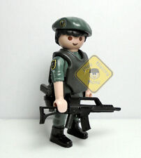 PLAYMOBIL CUSTOM ☆ POLICIA ☆ GUARDIA CIVIL - GAR- UNIDAD ELITE #1