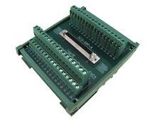 68-Pin SCSI Female Signals Breakout Board Module Din Rail servo drive motor
