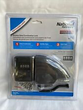 National Hardware Keyless Lock Gate Combination Kit N109-045 V3801 Yardlock
