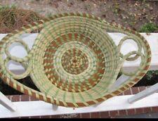 Gullah Sweet Grass Basket ( Double loop bread tray )