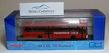 "Rietze 1/87: 71825 Mercedes-Benz O 405 ""Fire brigade Oberhausen"""