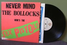 "Sex Pistols ""Never Mind The Bollocks"" LP EX Orig No Barcode The Clash Damned"