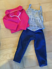 """NEW Journey Girl 18"""" Doll Clothes lot Fits American Girl Shirt Jeans Pink Jacket"""