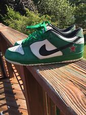 Nike SB Dunk Low Pro Heineken Shoes US 9 Ltd Edition Classic Green White 2003