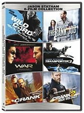 Jason Statham 6 Movie Collection Wild Card + Crank + More Box / DVD Set