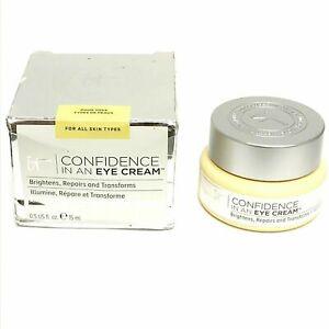 It Cosmetics Confidence in a Eye Cream 0.5oz NIB