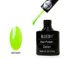 Bluesky UV LED Soak Off Nail Polish 10 ML Verde Neón 20