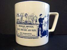 Hoffritz Mustache Mug Phidias Angelo Made in Japan Vintage