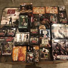 AMC The Walking Dead Huge Collectors Edition Lot Daryl Dixon Rick Memorbillia