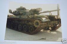 WOW Vintage Military US Army TANK Original Photograph Photo Rare 1986