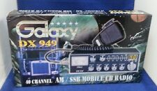 Galaxy Dx-949 Am Ssb Cb Radio Dx949 Tuned,Aligned,Schottky Receive, Clarifier