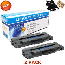 2pk MLTD105L MLT-D105L BK Toner For Samsung 105L SCX-4600 SCX-4623F SCX-4623FW