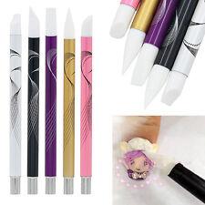 Eyeable 5 Pcs Set Nail Art Silicone Head Painting Pen Nail Design Brush