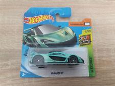 2020 Hot Wheels McLaren P1 - 1:64 1/64 HW Exotics 9/10 Green
