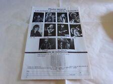 YES - DEVO - WHO - DURY - Publicité de magazine / Advert !!! vintage 70's !!!