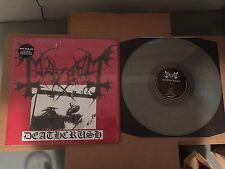 Mayhem - Deathcrush  - CLEAR  VINYL - LP RECORD  darkthrone