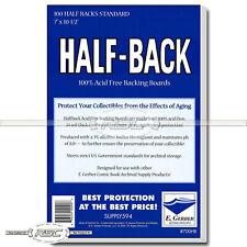 100 - Half-Back Standard 24pt Comic Book Backing Boards by E. Gerber - 700HB